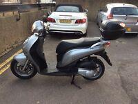 Honda pes 125 /psi / sh 2013 plate low miles