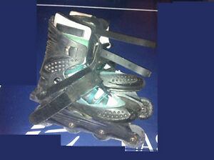 Aerowheels Roller Blades Size 10, Bauer Skates, Soccer Cleats