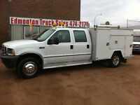 2003 Ford F-450 XL CREW CAB 10FT SERVICE BODY
