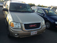 2004 GMC envoy 4wd slt leather lic/inspected /clean in/out $2000