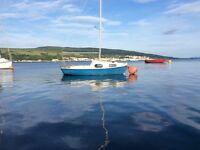 Macwester Kelpie Sailing Boat