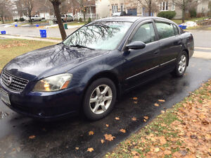 2005 Nissan Altima Safetied/E-Tested Kingston Kingston Area image 1
