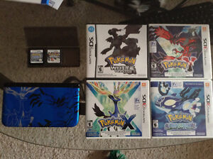 Nintendo 3DS XL special edition + pokemon games