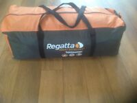 Regatta 4Man tent used twice perfect condition