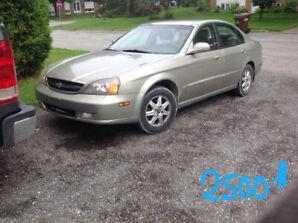 Chevrolet  épica 2004