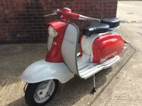Ride Away Today Stunning Fully Restored Italian Lambretta Li 150 S1 1959