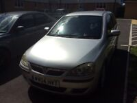 Vauxhall corsa low milliage years mot just been done