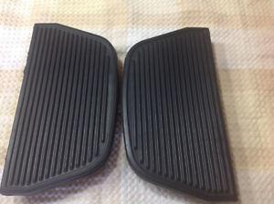 Harley passenger floor board rubbers pads
