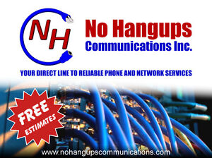 Phone & Network Cabling & Services - Business and Residential Kitchener / Waterloo Kitchener Area image 1