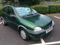 1998 Vauxhall Corsa 1.4 GLS Automatic-2 owners-23,000 miles-service history-12 months mot