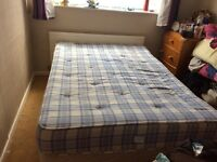 Dunelm Double Bed With Orthopaedic Mattress