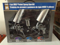 Paint spray gun set, never used and in the box $60.00 OBO
