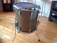 "Ludwig keystone usa  floor tom 14""( oak maple oak)"