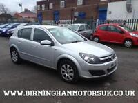 2006 06 Vauxhall Astra 1.8i 16v CLUB AUTOMATIC 5DR Hatchback SILVER + LOW MILES