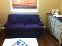 Purple couch hide a bed sofa lit faite une offre make an offer