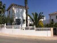 3 Bed detached villa Costa Blanca South Spain