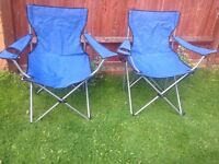 FISHING/ CAMPING FOLDABLE CHAIRS
