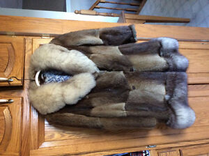 Fur coat from Eaton's store, 1960's for sale in mint condition