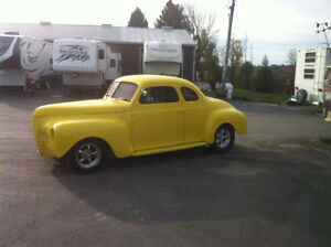 1941 plymouth businessman coupe hot rod trade diesel