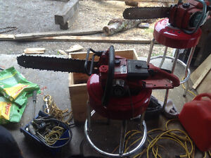 2 Old Homelight Chainsaws