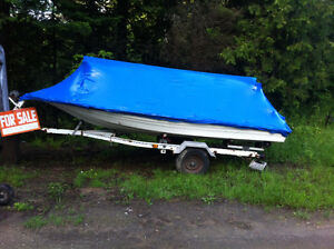 Boat, trailer and all rigging