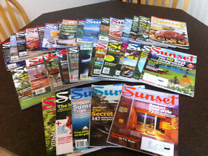Sunset magazines
