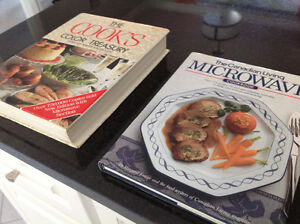 TWO Hardcover cooking books