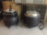 Soup kettle for selling £40 each. £70 if you take both of them.