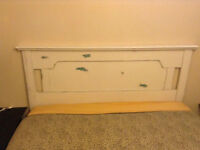 Hand Made custom crafted queen head board