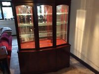 China Cabinet and curio cabinet
