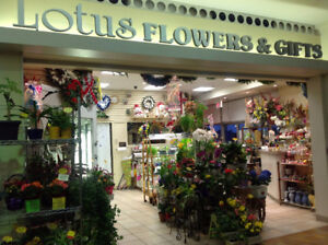 Flower shop close sell