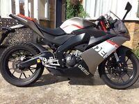 125 derbi gpr racing 65 plate **Quick sale**