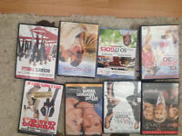 8 DVDS FOR $10