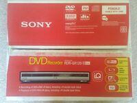 Sony DVD Recorder RDR - GX120