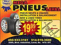 Mega Liquidation de Pneus Hiver Usages et Neufs Laval,Montreal