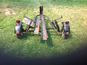 Motorcycle Trailer Very Light Pull with Any Vehicle