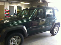 2002 Jeep Liberty SUV, Crossover SAFTIED
