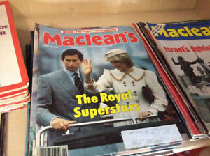 Old Magazines all pre 1990's