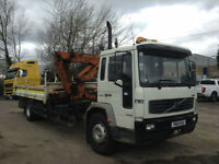 Volvo FL 220 4X2 DAY 18T DROPSIDE