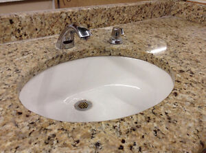 Granite Top Vanity with Touchless Faucet Ottawa Ottawa / Gatineau Area image 2