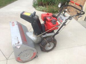 32 inch Craftsman snow blower with electric start