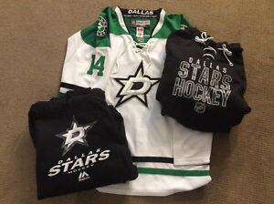 NHL Dallas Stars Jersey and 2 Hoodie's