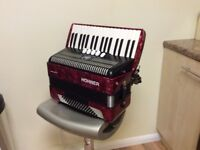 Accordion Hohner Bravo 111 72 bass