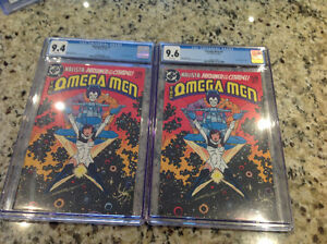Selling Off 2 Graded Omega Men 3 First Lobo!! $130 For Both!!