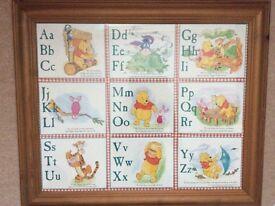 Winnie the Pooh alphabet picture