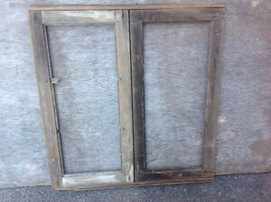 ANTIQUE WOODEN WINDOW FRAME - IDEAL FOR INTERIOR DECOR