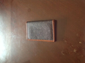 Credit And Business Card Leather Case