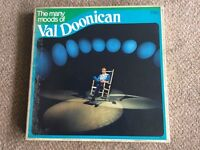 The many moods of val doonican. Boxed vinyl