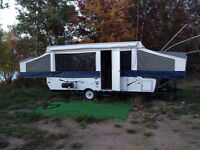 2009 -12 ft Palimino Tent Trailer