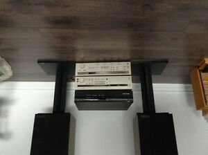 Amplifier, Receiver/cD Player and Speakers
